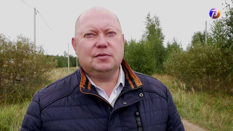 ОлегАлександрович Пакин встретился с жителями улицы Радужной
