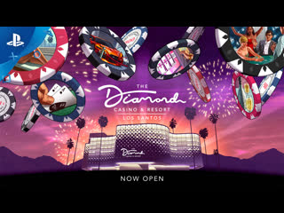 Gta online | обновление the diamond casino & resort | ps4