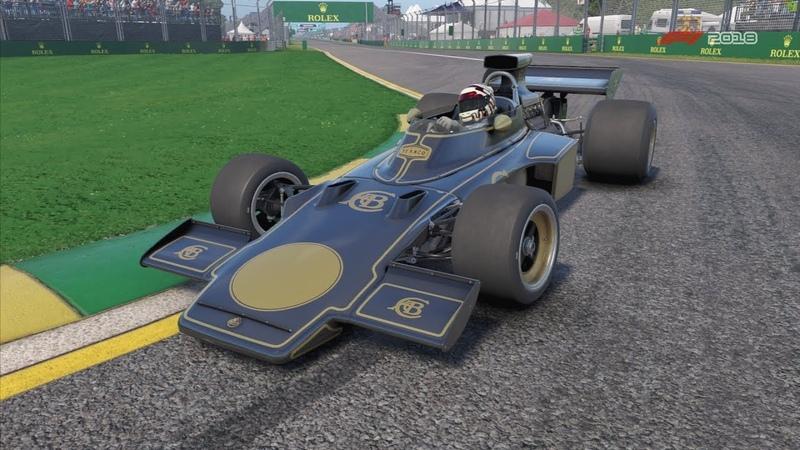 Team Lotus 72d 1972 Australia Melborne Circuit F1 2018