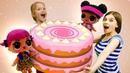 Куклы Лол в видео для детей - Готовим вкусняшки из Плей До! - Игры для девочек.