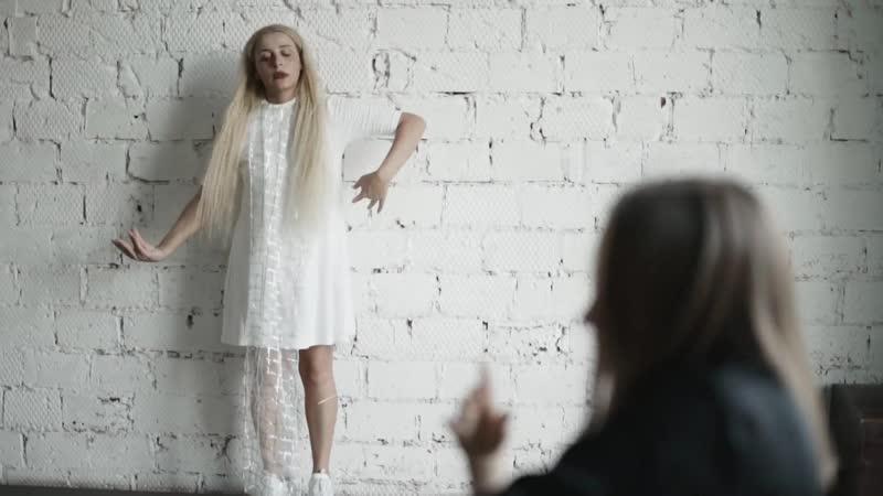 Megi Gogitidze Трейлер к клипу Белая ворона