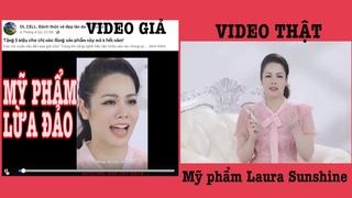 Nhật Kim Anh bóc phốt hàng giả, hàng nháy mỹ phẩm Laura Sunshine, Hướng dẫn cách mua hàng chính hãng