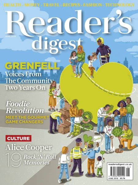 Readers ReReaders Digest Uk 06.2019Re