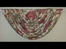 How to make swags and tails curtains very easy and Beautiful swag