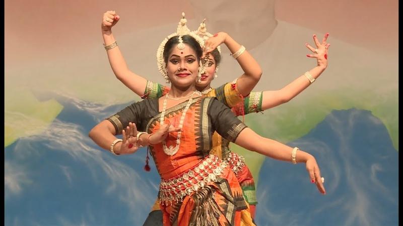 Vakratunda Mahakaya Ganesh Vandana Odissi Dance By Prashanti Group At Rourkela Odisha
