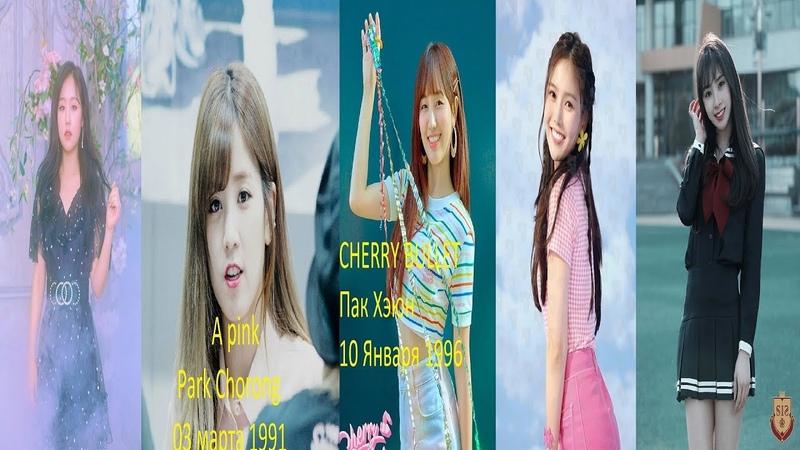 Лучшие лидеры из женских групп милого концепта К поп