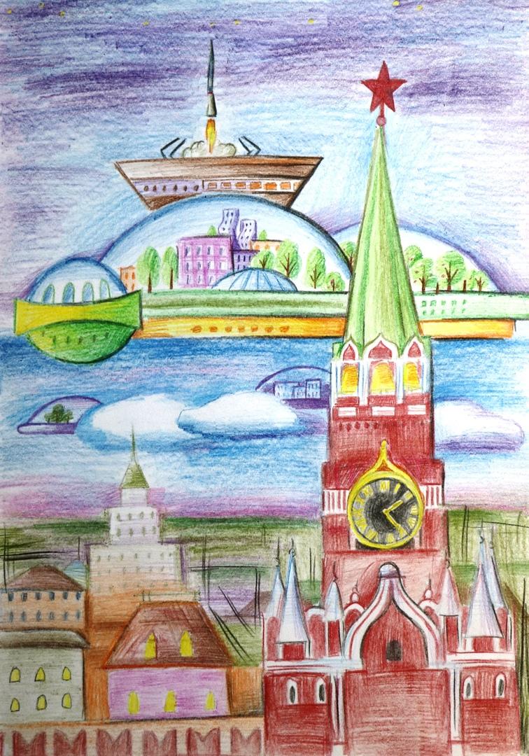 Хамцов Егор. Москва высокотехнологичная