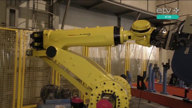Эстонская фирма разрабатывает роботизированные комплексы для российского завода