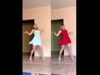 Ксения Саватеева. Треню танцами