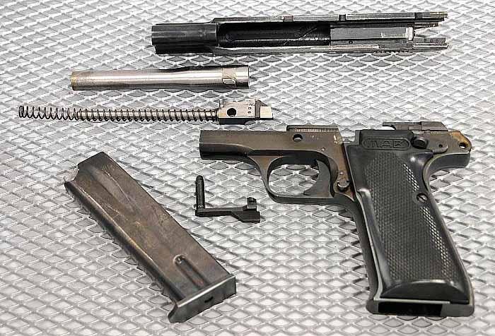 Пистолет MAB PA-15, Франция, изображение №3