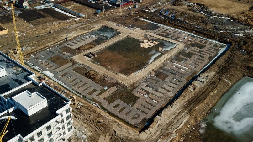 Отчет о ходе строительства апрель 2020 ЖК «Ожогино», изображение №11