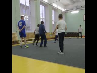 Слабовидящие детки из Хабаровска играют в футбол