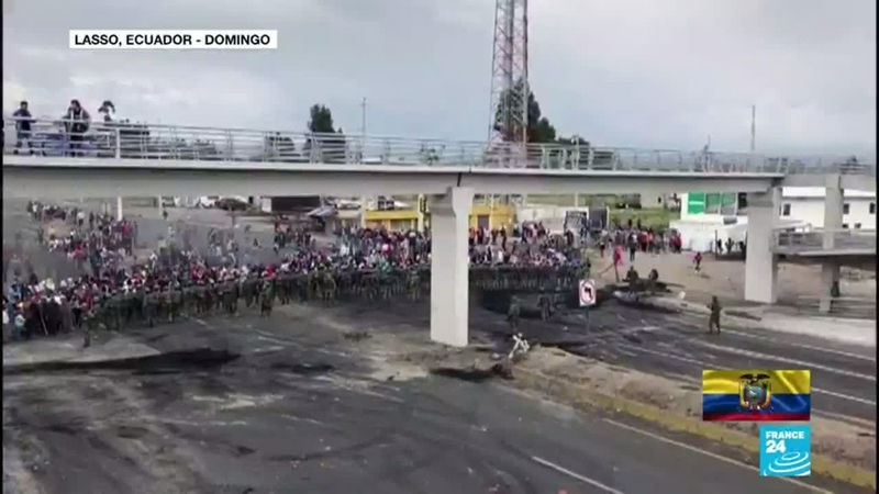 Ecuador: indígenas retienen a cerca de 50 militares y policías en medio de las protestas