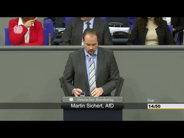 Martin Sichert AfD 11% mehr Taschengeld für Flüchtlinge wann bekommen Rentner 11% mehr