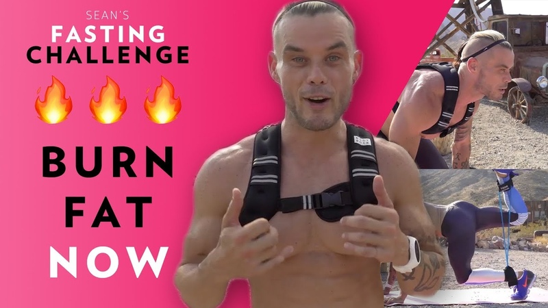 BURN FAT NOW - Try Sean Light's FASTING CHALLENGE