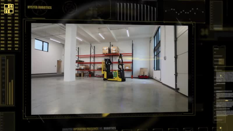 Hyster роботизированная складская техника