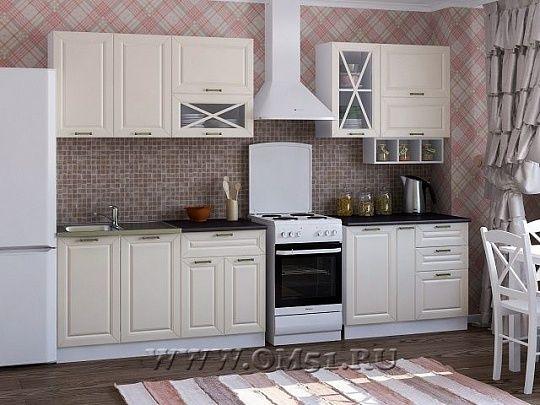 Кухня МДФ К-2.4 с мойкой