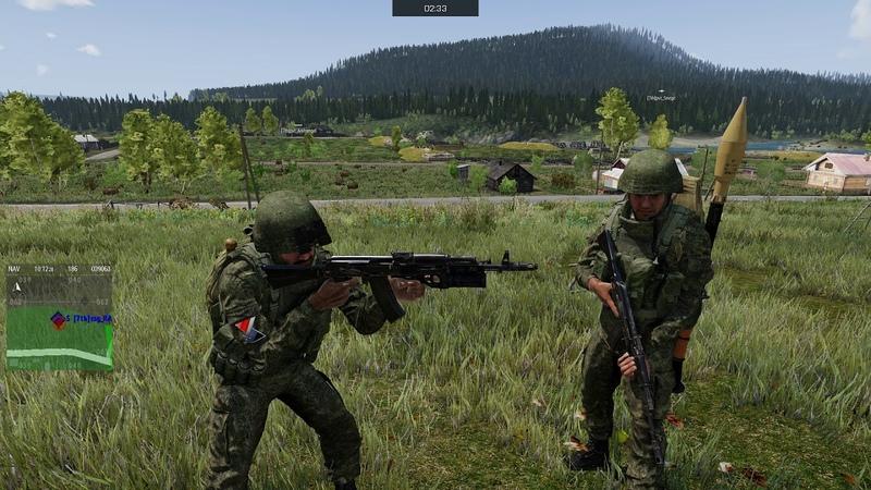 Arma 3 Tactical Realism Games Смуглянка