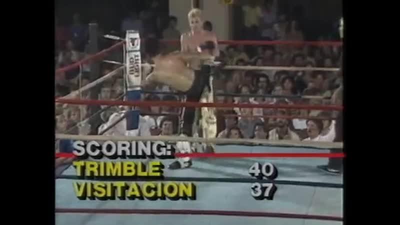 Jerry Trimble vs Robert Visitacion