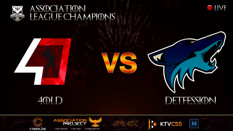 ASSC LEAGUE CHAMPIONS SUPERMAJOR 4 CSSv34 4OLD vs DETFESSION @bo3 20 00