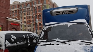 """⚡: Работы в ЖК """"Видный город"""" и уборка дорог от снега:"""