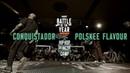 Conquistador vs Polskee Flavour | 3vs3 Top 8 | Hip Hop Pfingstcamp X Snipes BOTY CE 2019