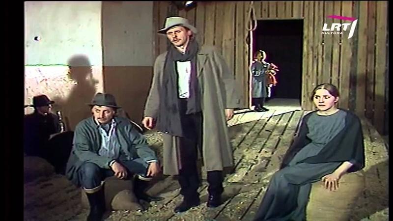 Kauno dramos teatro spektaklis J O'Nilas Virvė 1994 Režisierius Aurelijus Šliavas