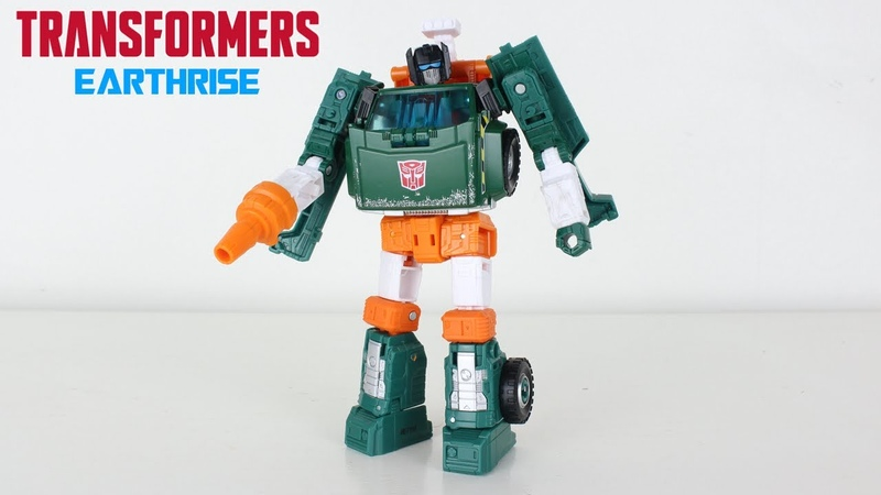 Transformers Earthrise Deluxe Class Hoist Review