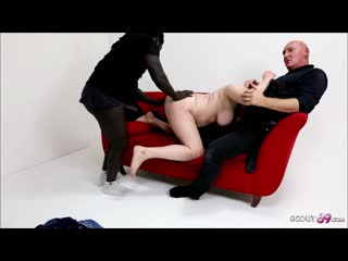 German old Couple Book Huge Cock Black Callboy to Fuck
