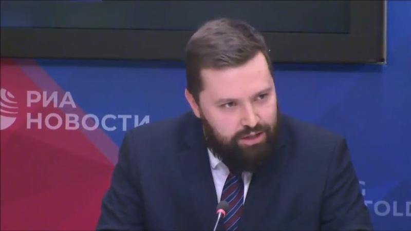 Дмитрий Егорченков. Заседание Временной комиссии СовФеда по защите государственного суверенитета.