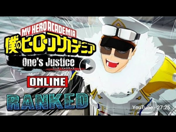 Salty Runback Marathon My Hero Academia One's Justice Online Ranked