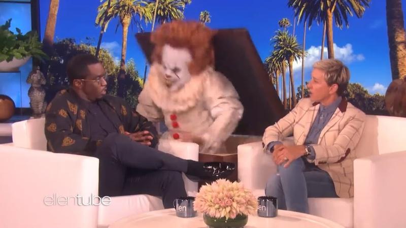 P Diddy был напуган клоуном