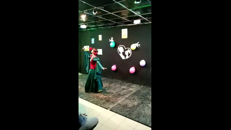 танец от Моаны