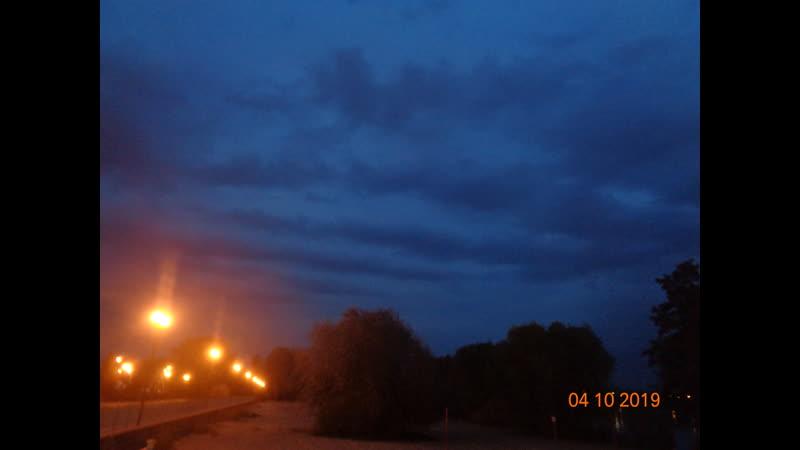 06.10.2019 г. Ночная октябрьская гроза в Липецке при 5😄👍🏻👍🏻👍🏻👍🏻👍🏻👍🏻👍🏻🌧⛈⚡⚡⚡ Часть 2.)