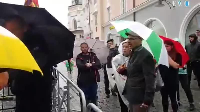 Muslimischer Mitbürger in Rosenheim droht Michael Stürzenberger mit Anzeige wegen Volksverhetzung