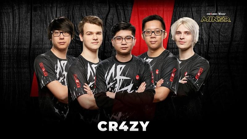 Team Profile CR4ZY StarLadder ImbaTV Dota 2 Minor Season 3