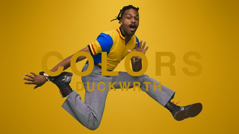 DUCKWRTH THROWYOASSOUT A COLORS SHOW