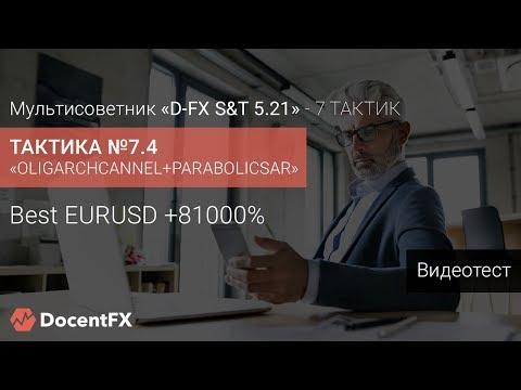 Невероятно с 130 до 81000 $ за год по EURUSD BEST t7.4