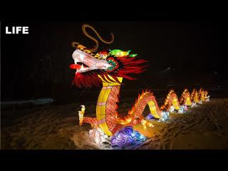 Фестиваль китайских фонариков в Москве
