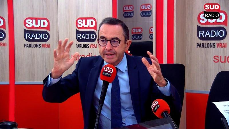 Bruno Retailleau Macron est partout sauf à Rouen Il y a un malaise social