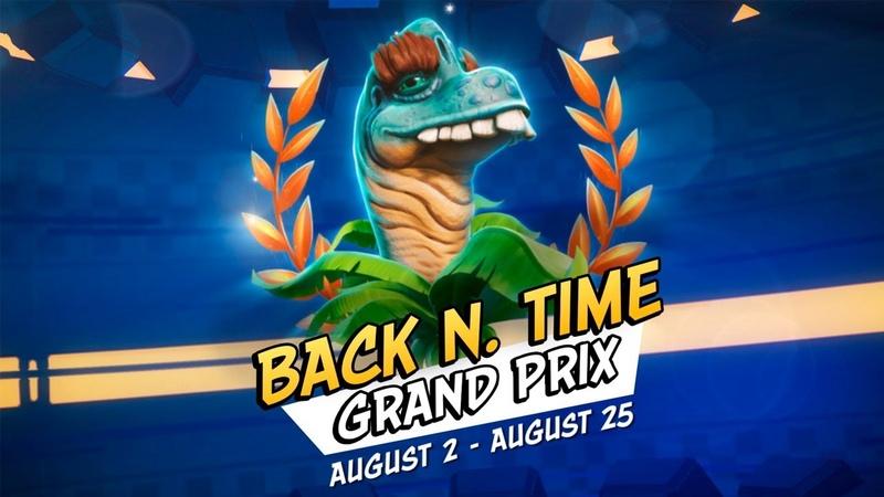 Crash Team Racing Nitro Fueled Back N. Time Grand Prix Intro