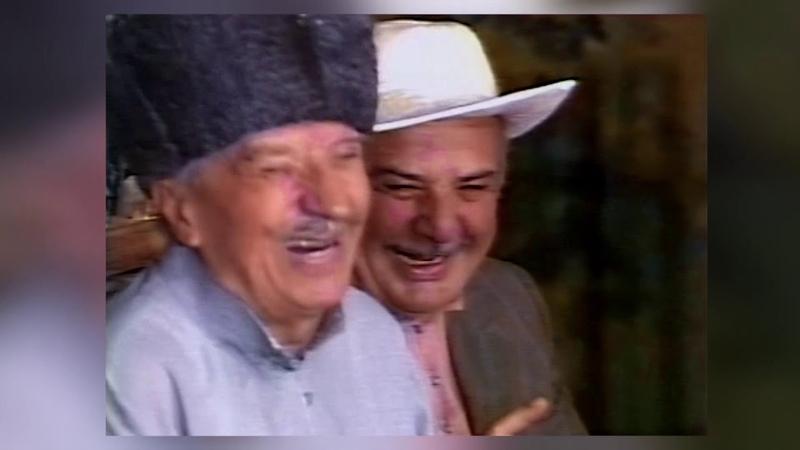 Из сокровищницы осетинской культуры. Отрывок из спектакля по пьесе Геора Хугаева Сатти и Батти