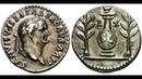 Денарий 81 год Монета Тит Древний Рим Denarius 81 AD