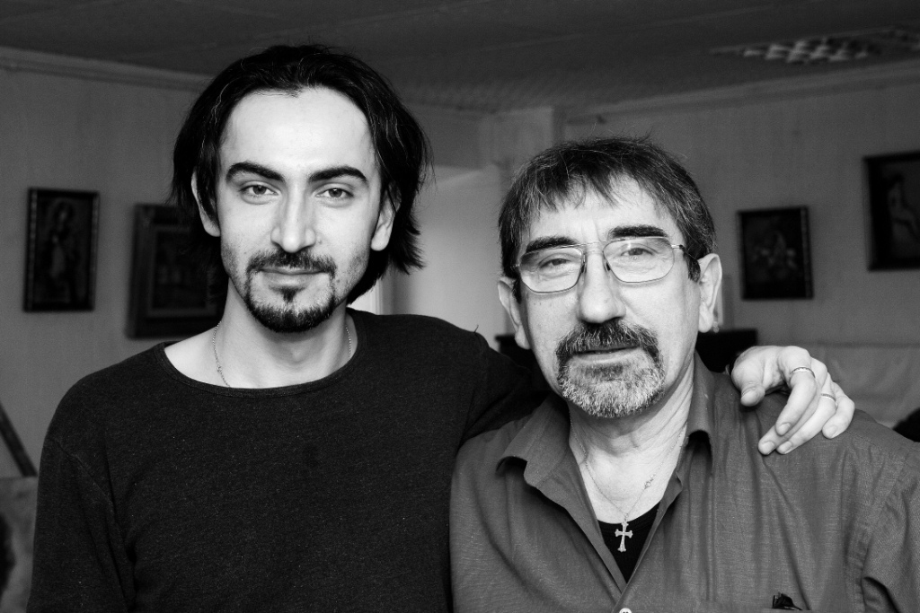отец и сын Григоряны