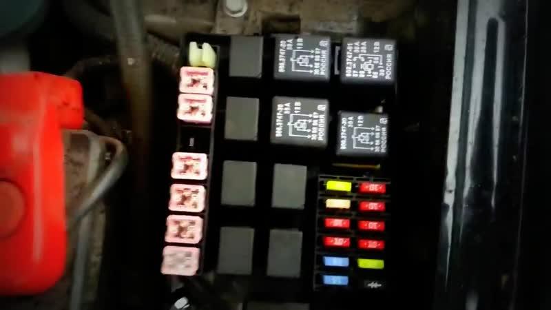 Dewo Lanos Решение проблемы Не работает панель приборов Не заводится