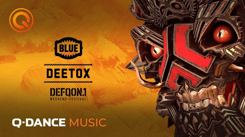 The Colors of Defqon 1 | BLUE Mix by Deetox