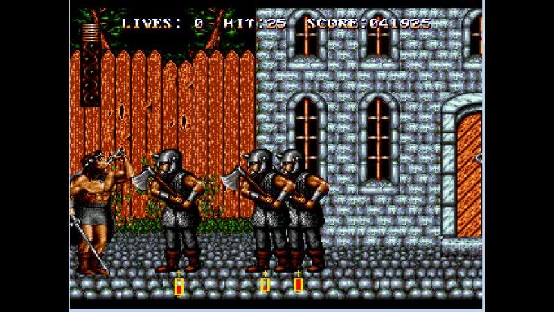 Обзор ебанутой садистской и супер сложной игры Sword of Sodan.Sega.Меч Содана.11DeadFace