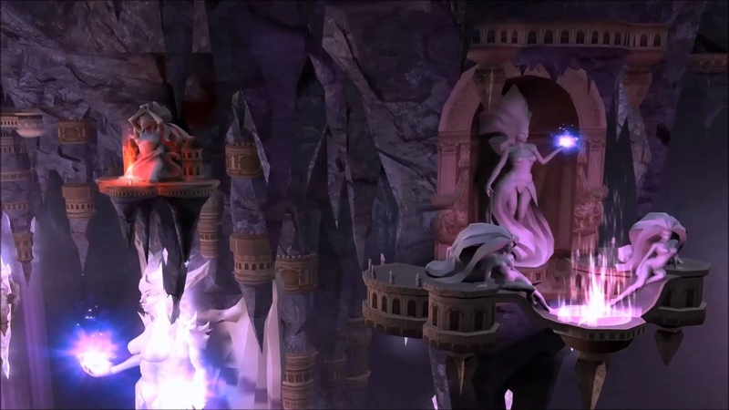 Heroes of Might Magic V All Town Themes Animatic (2005, Ubisoft/Nival) 1080p Animated