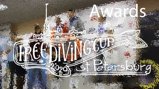 AIDA: St. Petersburg AIDA Freediving Cup 2021   Церемония награждения  