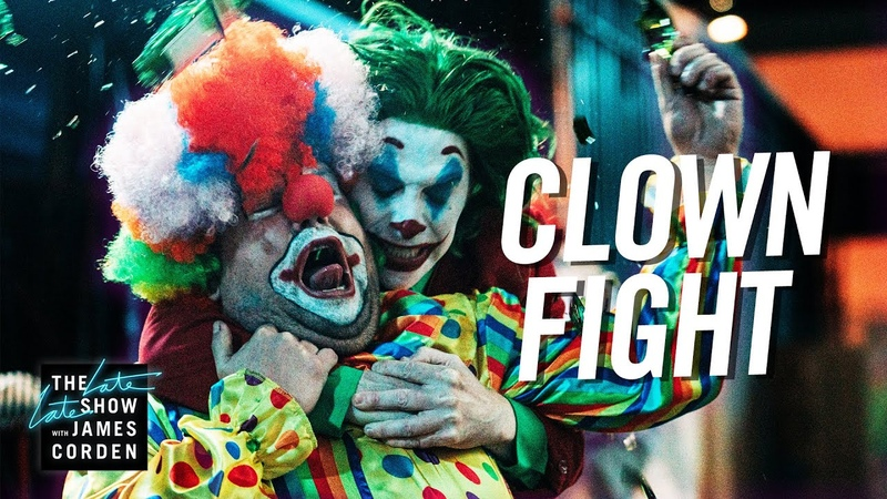 Regular Clowns Brawl with Pennywise Joker